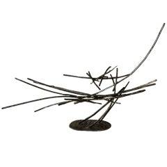 Metal Free Form Sculpture Silas Seandel