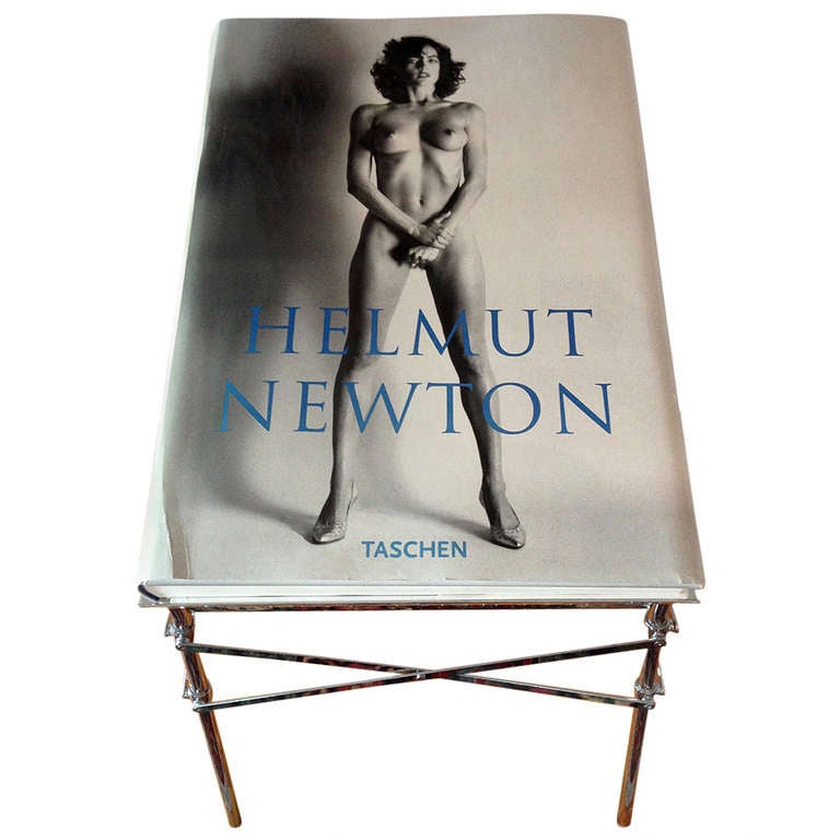 """The Big Nude"" sumo book with stand Helmut Newton"