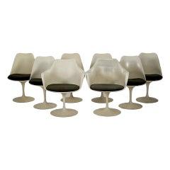 Set Of Eight Tulip Chairs  Eero Saarinen Knoll