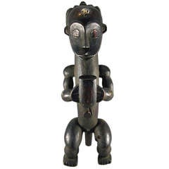Fang Reliquary Figure Gabon African Tribal Art