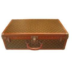 Vintage Louis Vuitton Suitcase 1930s