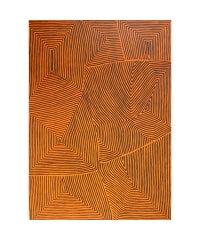 Aboriginal art painting by George Hairbush Tjungarrayi