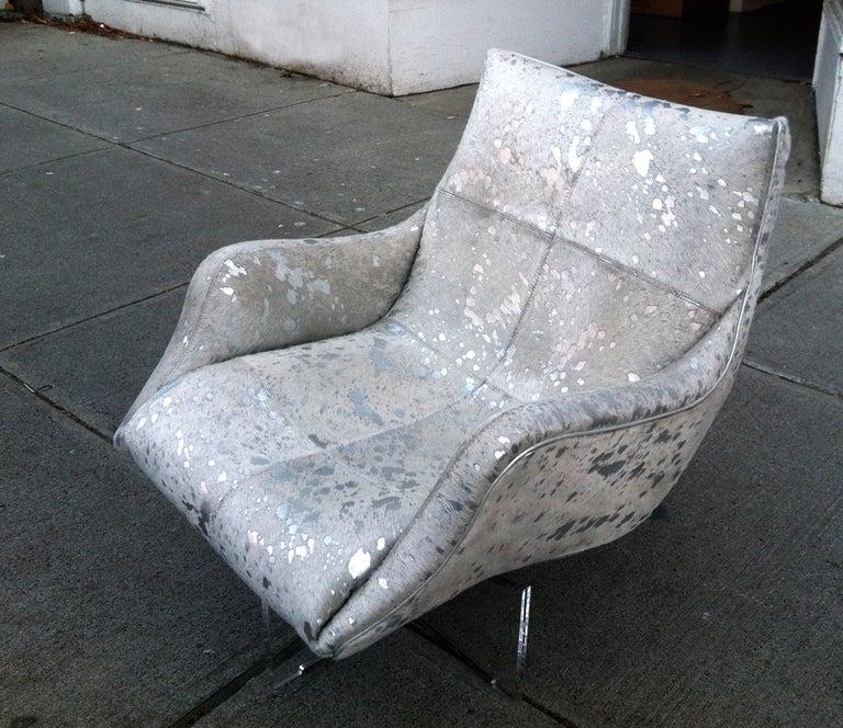 Lounge Chair On Lucite Base Vladimir Kagan For Sale At 1stdibs