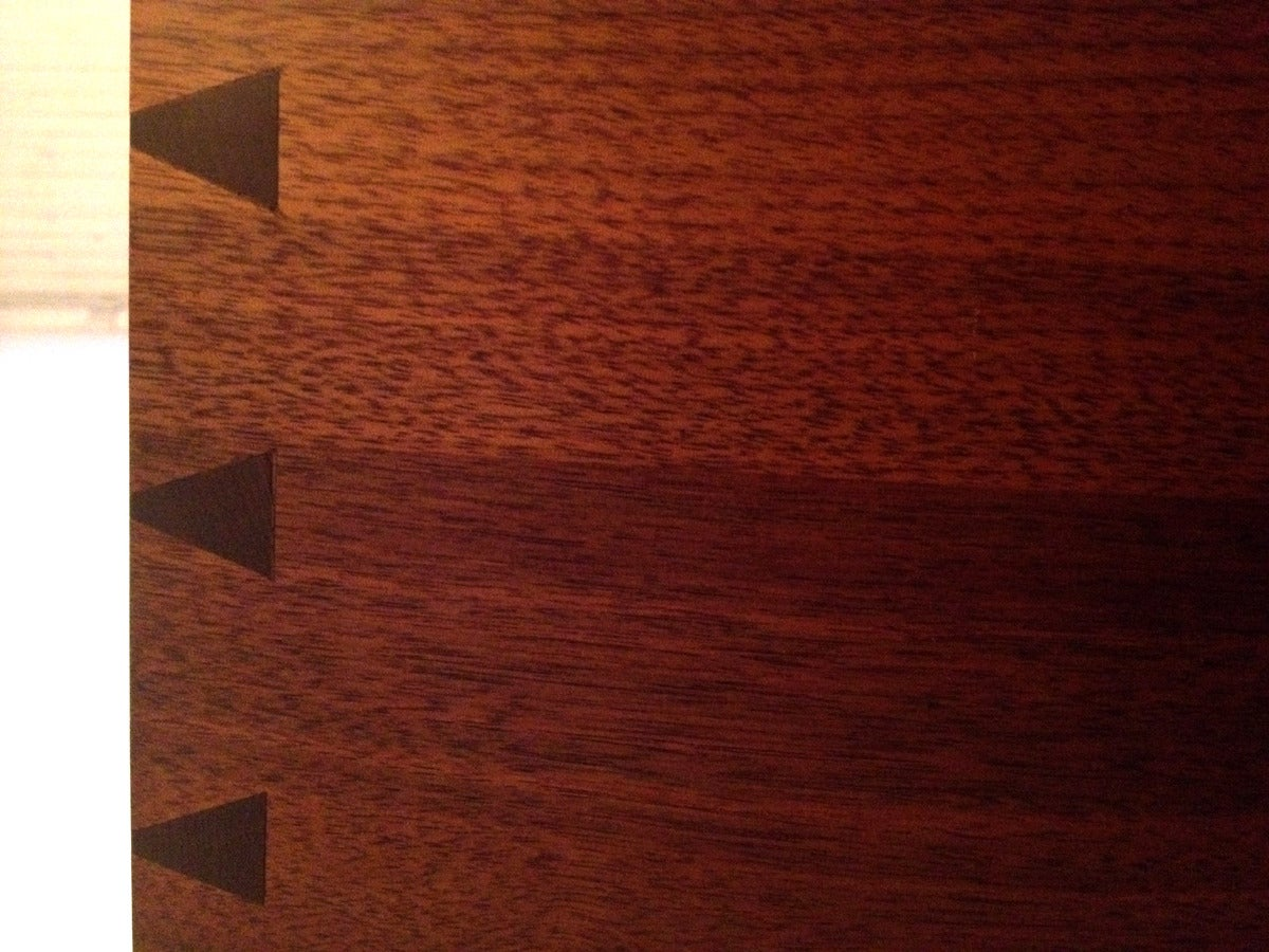 Walnut Sideboard with Top Shelf by George Nakashima For Sale 4