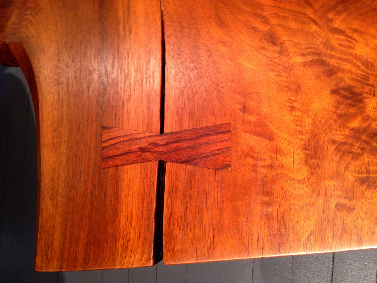 Mid-20th Century Early Large Walnut Coffee Table by George Nakashima