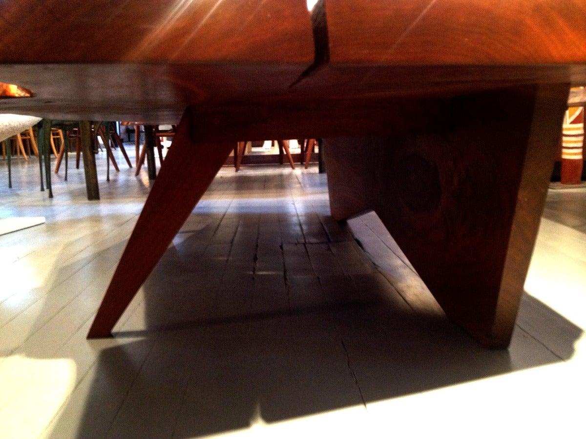 Early Large Walnut Coffee Table by George Nakashima 3