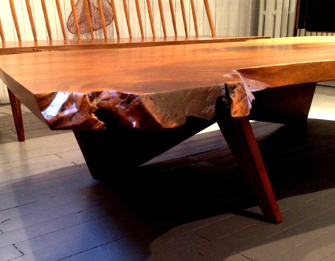 Early Large Walnut Coffee Table by George Nakashima 2
