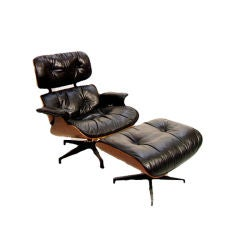 Early Down Charles Eames Herman Miller Lounge Chair