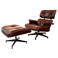 Charles Eames Herman Miller 670/671 Lounge Chair and Ottoman