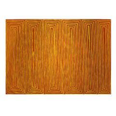 Australian Aboriginal Painting by George Hairbush Tjungarrayi