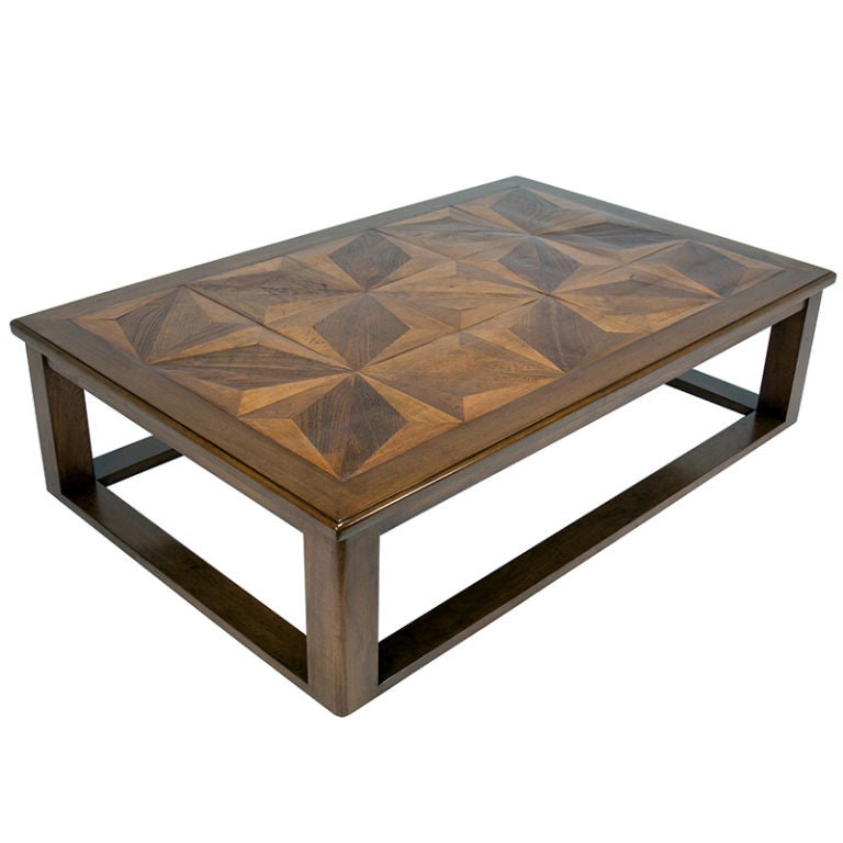 French Parquetry Coffee Table: The French Parquetry Coffee Table At 1stdibs