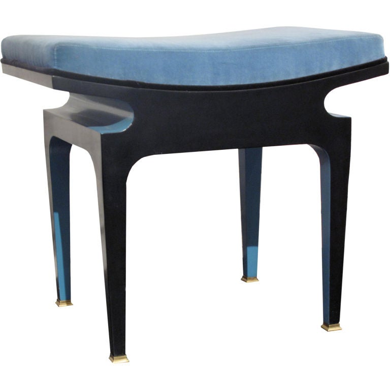 thalos stool by bruno de caumont at 1stdibs. Black Bedroom Furniture Sets. Home Design Ideas