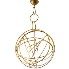 Astrolabe Chandelier by Hubert le Gall