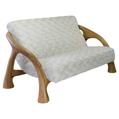 Yaka Oak Loveseat by Saccomanno - Dayot