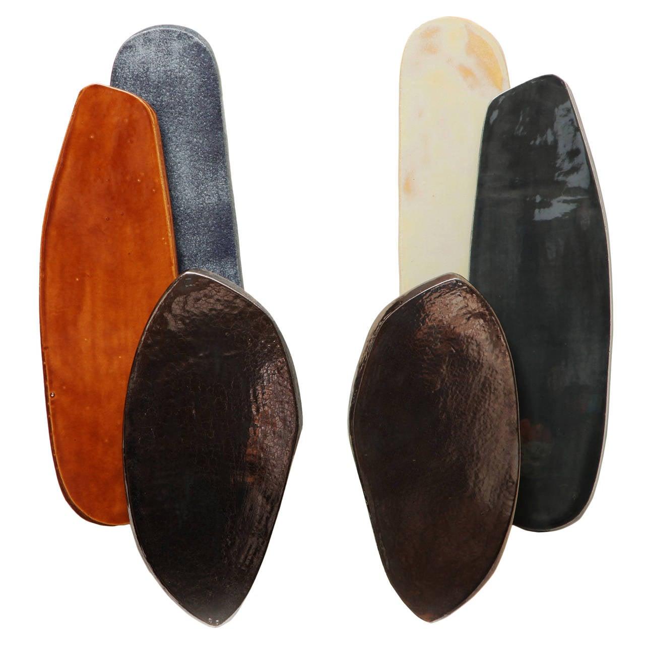 Adjustable Sconces by Armelle Benoit For Sale