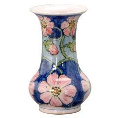 Art Nouveau Liberty Pink Flowers Vase by Galileo Chini