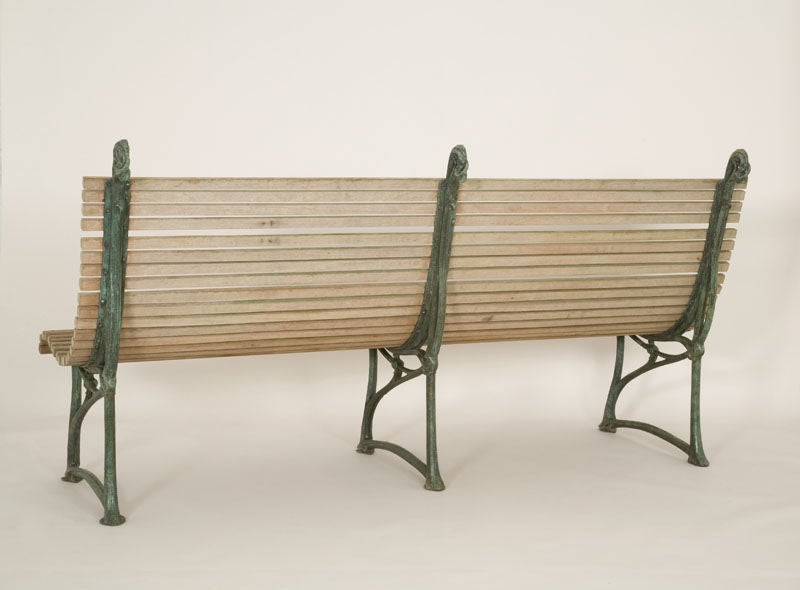 20th C. Garden Bench By Hector Guimard For Sale At 1stdibs