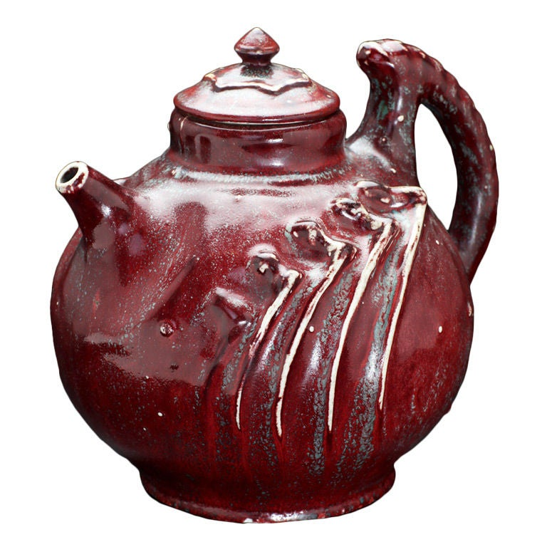 Stoneware Teapot By Pierre Adrien Dalpayrat At 1stdibs