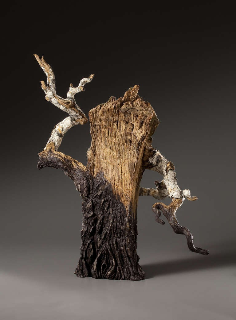 ceramic trompe l 39 oeil charred birch spilt log teapot by. Black Bedroom Furniture Sets. Home Design Ideas