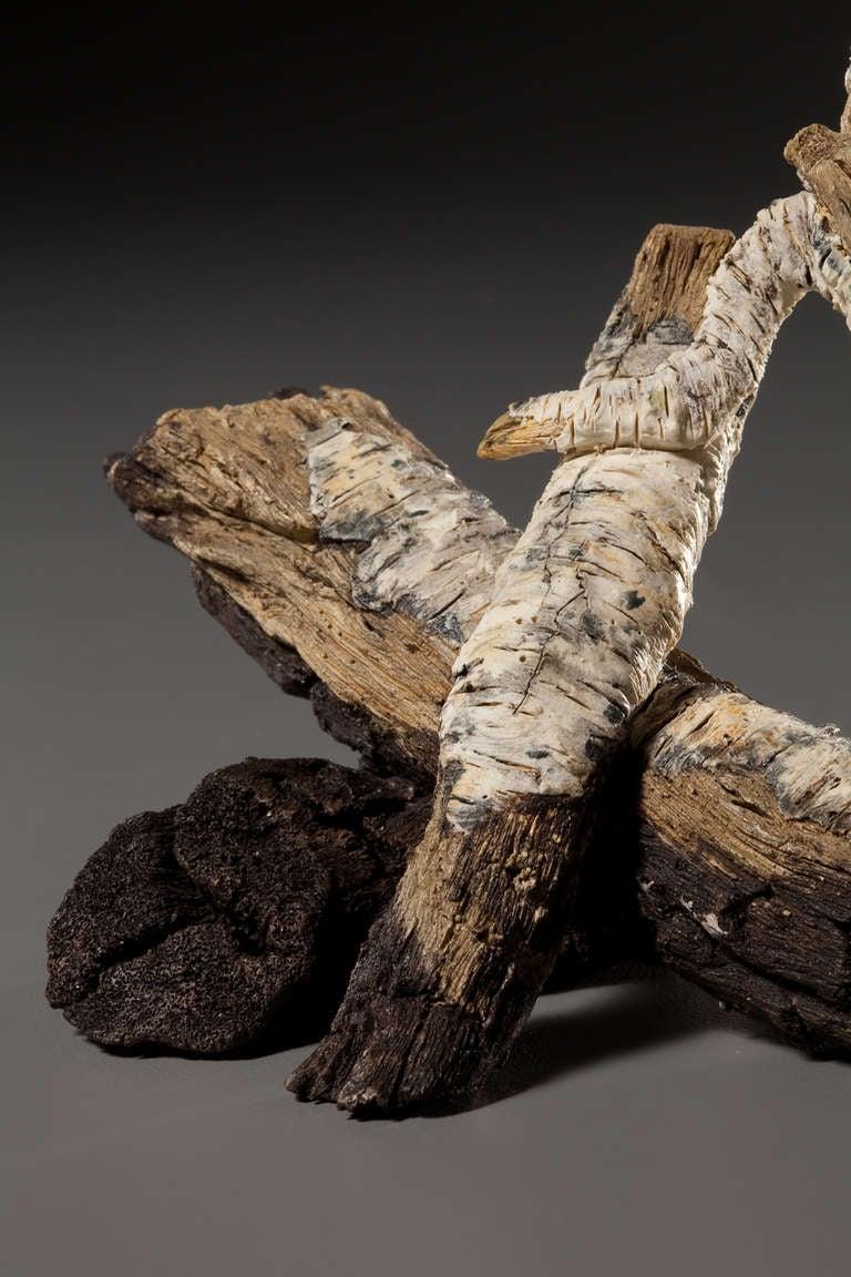 ceramic trompe l 39 oeil gongfu campfire teapot by eric. Black Bedroom Furniture Sets. Home Design Ideas