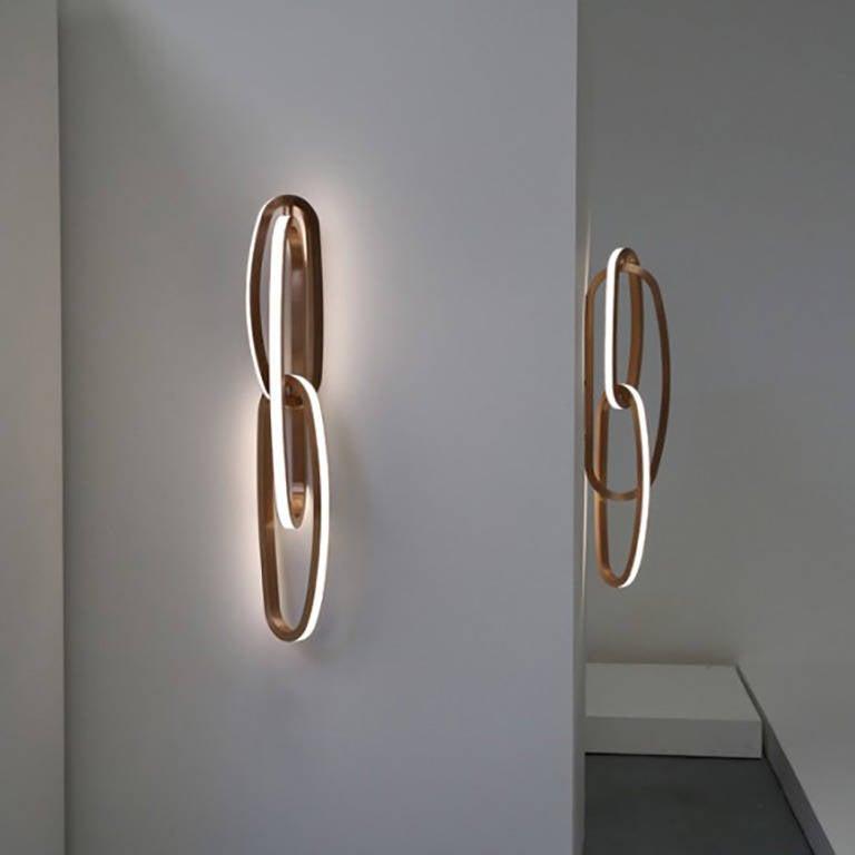Wall Light Sculpture: Niamh Barry, Fouette Sconce Light Sculpture, Ireland, 2013