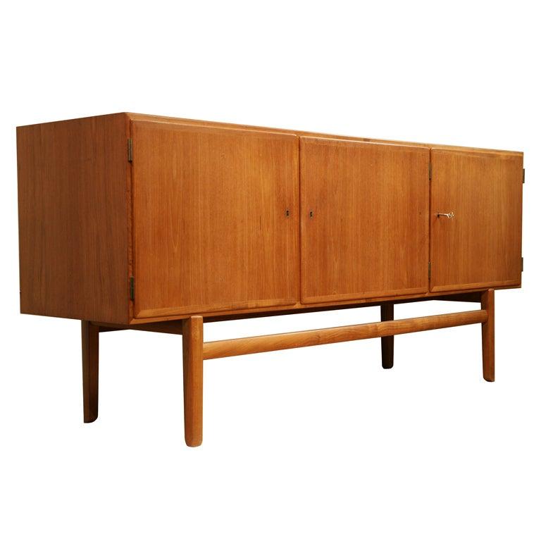 Ole wanscher for p jeppesen danish teak sideboard at 1stdibs for P jeppesen furniture