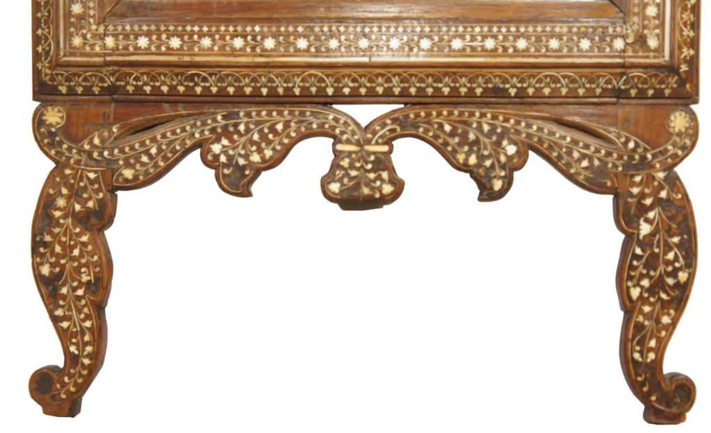 Hoshiarpur India  city photos : Anglo Indian Hoshiarpur Ivory Inlaid Rosewood Dresser Mirror For Sale ...