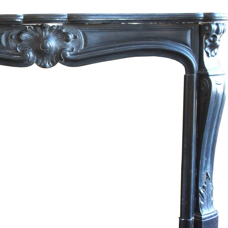 Black Marble Fireplace Surround Absolute Black Granite