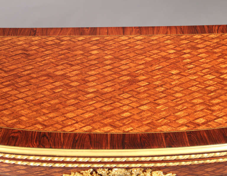 19th Century Card Table by François Linke For Sale