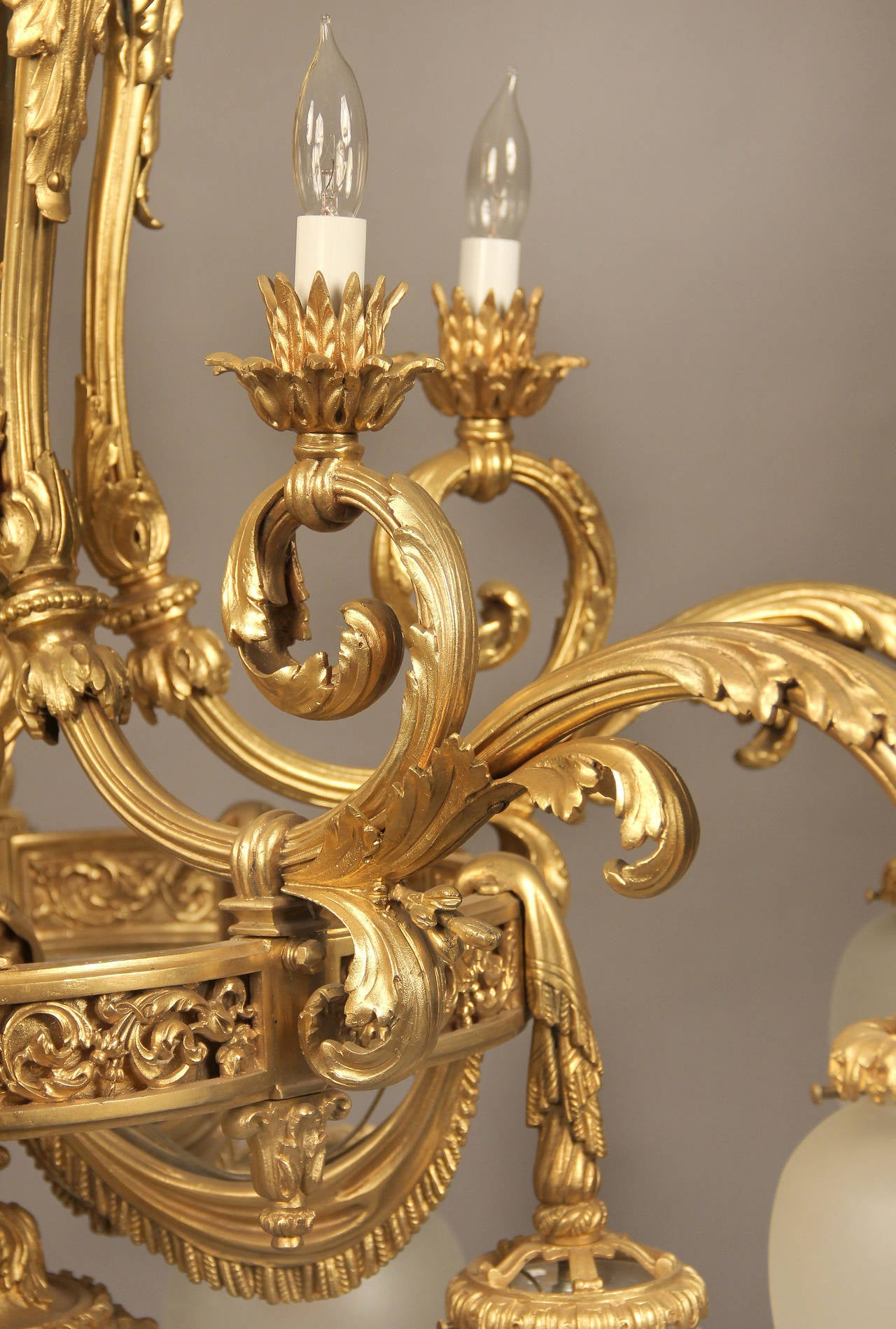 An Unusual And Great Quality Early 20th Century Gilt
