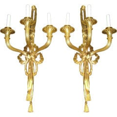 Pair of Great 19th Century Sconces
