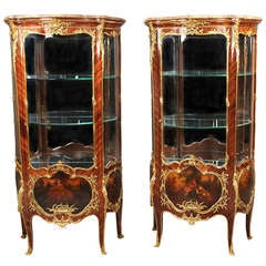 Pair of Linke Vitrines
