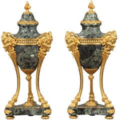 Pair of Late 19th Century Cassolettes by Thiebaut Freres