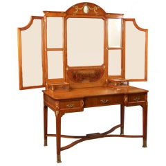 19th Century Louis XVI Style Dressing Table