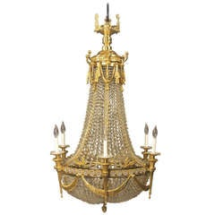 Russian Empire Style Baccarat Chandelier