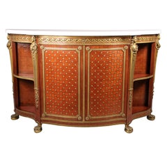 A Mid 19th Century Gilt Bronze Mounted Cabinet By Charles-Guillaume Winckelsen