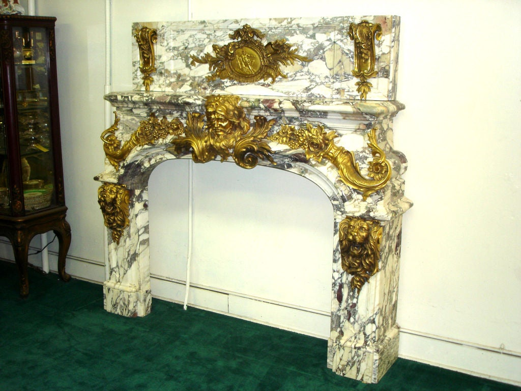 Salon de hercules fireplace palace of versailles for sale for Salon de versailles