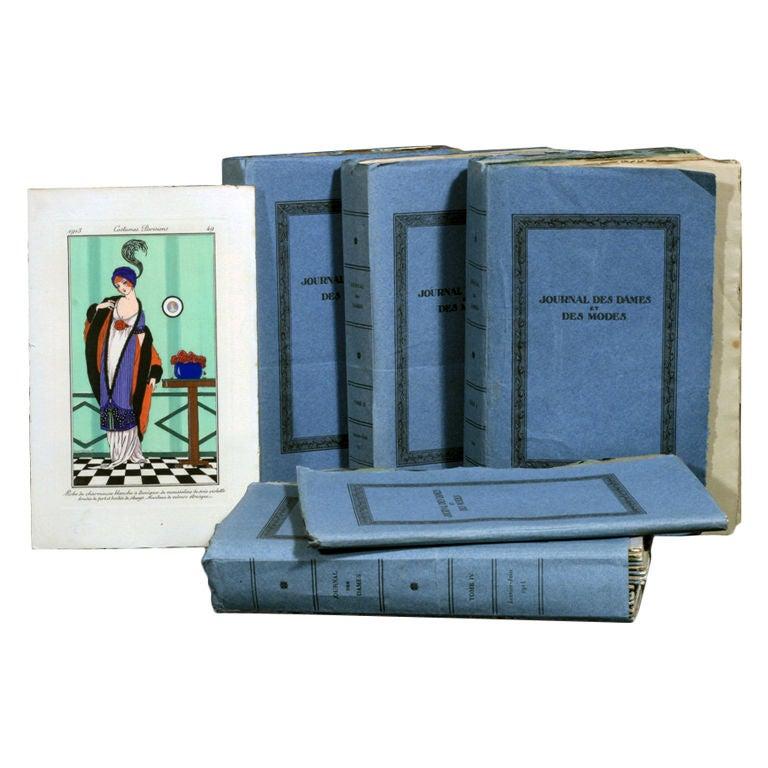 BARBIER, GEORGE, et al. -  Journal des Dames et des Modes For Sale