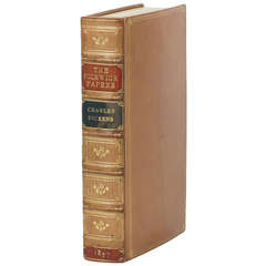 Charles Dickens: Pickwick Papers, First Edition
