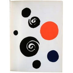 Alexander Calder - Signed and Inscribed catalog