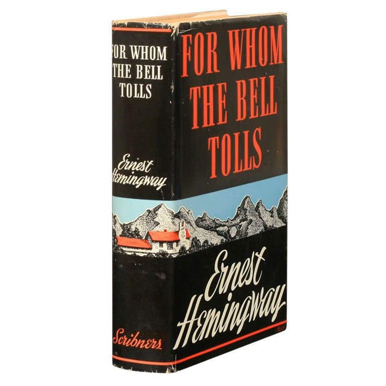 a literary analysis of war in for whom the bell tolls by ernest hemingway For whom the bell tolls by ernest hemingway - book cover, description, publication history.