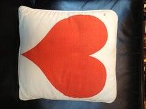 Alexander Girard Sun & Heart Pillow 1961. Herman Miller image 3