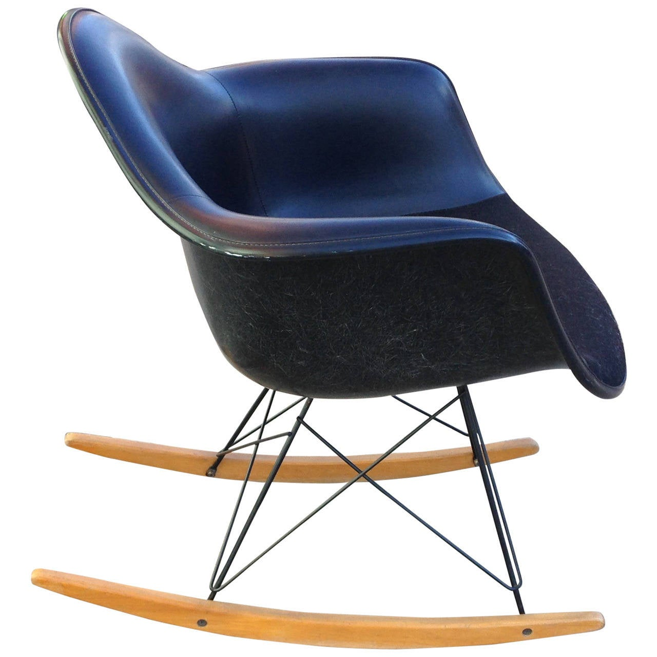 charles and ray eames rar rocking chair by herman miller. Black Bedroom Furniture Sets. Home Design Ideas