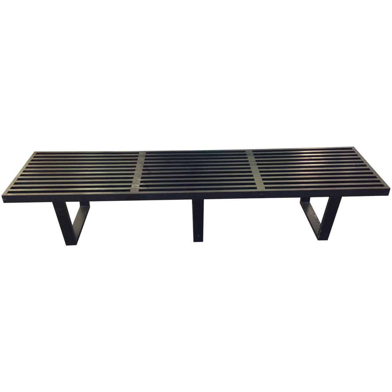 George Nelson Platform Bench Herman Miller 1952 At 1stdibs
