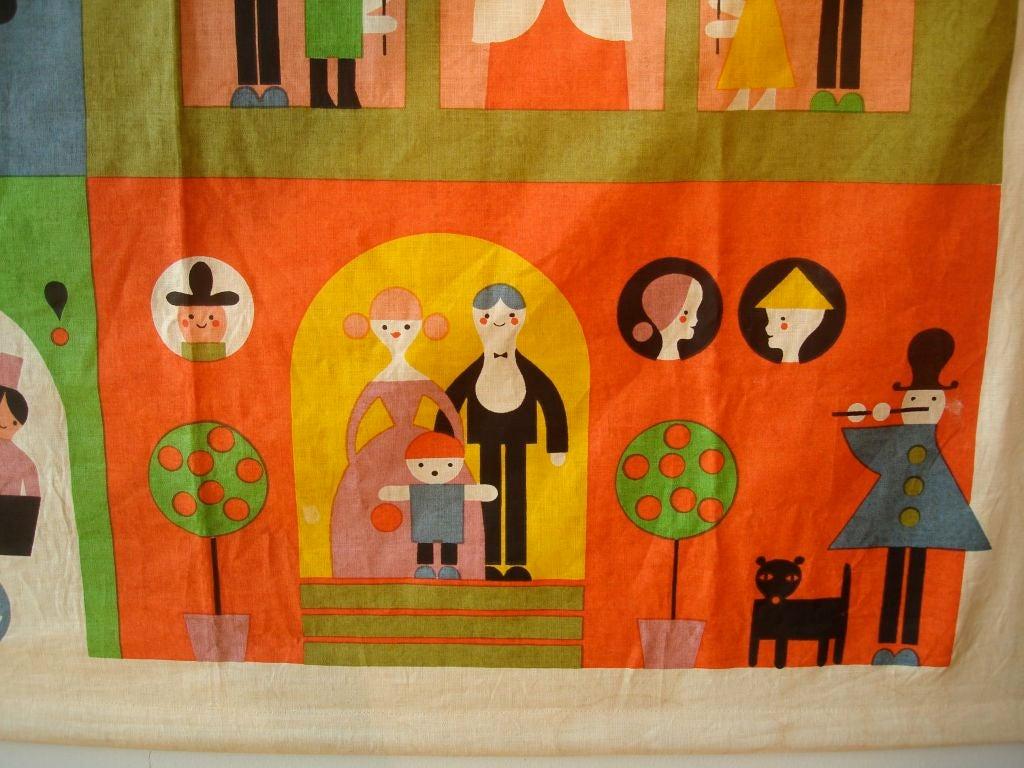 """Rare Alexander Girard """"House"""" Hanging. Herman Miller 1964 image 3"""
