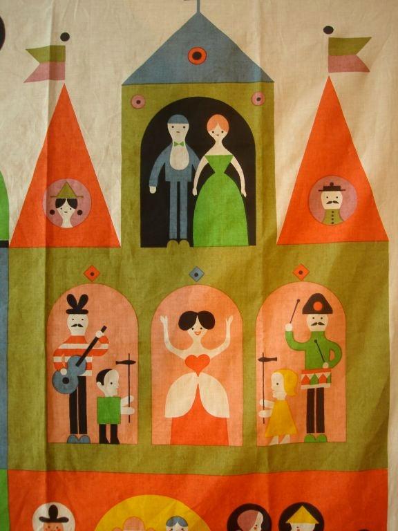 """Rare Alexander Girard """"House"""" Hanging. Herman Miller 1964 image 4"""