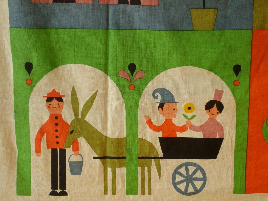 """Rare Alexander Girard """"House"""" Hanging. Herman Miller 1964 image 5"""