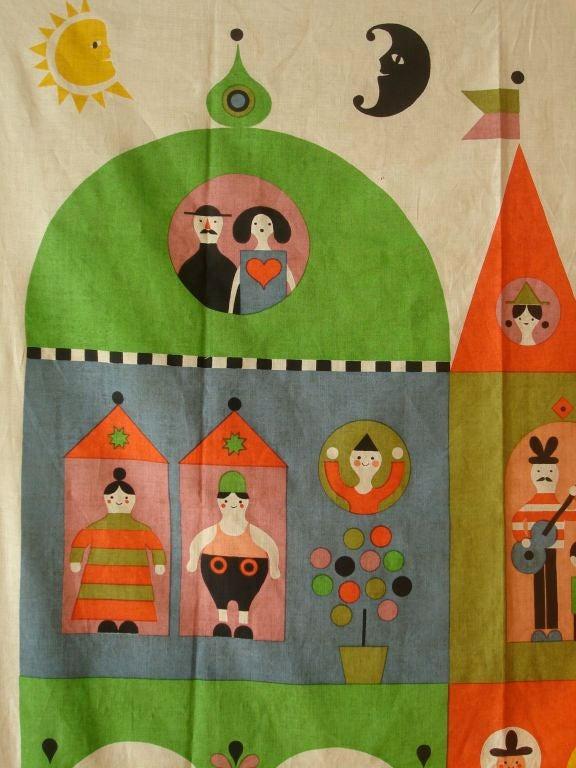 """Rare Alexander Girard """"House"""" Hanging. Herman Miller 1964 6"""