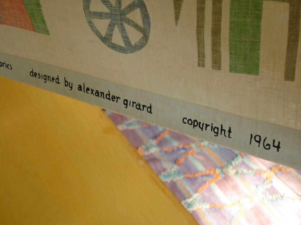"""Rare Alexander Girard """"House"""" Hanging. Herman Miller 1964 image 8"""