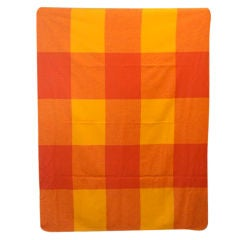 Alexander Girard Wool Blanket for Braniff Airlines